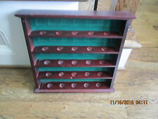 LOGO GOLF BALL DISPLAY RACK...(1) 25 GOLF BALL DISPLAY RACK/DISPLAY CASE..