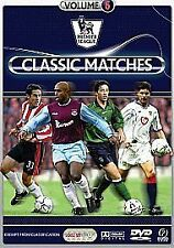 NEW SEALED DVD Film * PREMIER LEAGUE CLASSIC MATCHES VOLUME 6 *