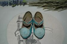 """Beautiful leather shoes for Jumeau Bru Steiner doll 3"""" (77 mm)"""