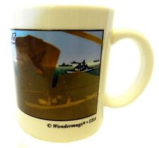 Collectible Wondermugs US Navy Military Ship Fighter Pilot Cup Mug