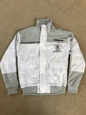 Adidas STAR WARS Hoth Blizzard Force Track shirt Top Sweat Jacket Men M Medium