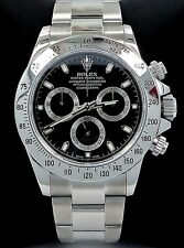 Rolex Daytona 116520 Cosmograph Steel Oyster Black Dial Watch *MINT CONDITION*