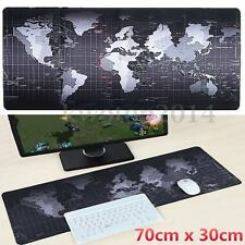 Large Size Non-Slip World Map Speed Game Mouse Pad Gaming Mat for Laptop PC