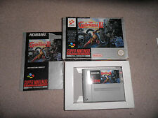 Super Nintendo, Snes - super castlevania 4 IV - 100% boxed