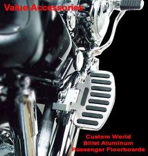 Billet Aluminum Passenger Floorboards, Yamaha VStar 650 / 1100 All, #04-2763