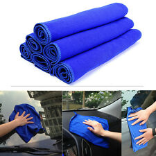 6x  30x30cm Microfiber Cleaning Towel Auto Car Home House Window Wash Dry Cloth
