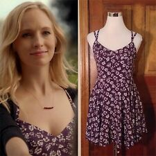 Kimchi Blue Scarlett Fit + Flare Dress SA Purple ASO Caroline Forbes 4/Small