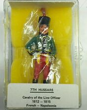 Reeves NFC 8 7th HUSSARS Cavalry of the Line Officer 1812-1815 1/32 (54mm)
