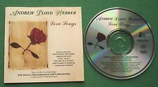 Andrew Lloyd Webber Love Songs Lesley Garrett Dave Willetts Sharon Campbell + CD
