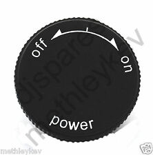 POWER ON / OFF manopola adatta solo TECHNICS SL1200MK2 SL1210MK2 NUOVO SL1200 SL1210