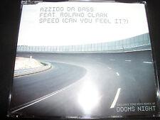 Azzido Da Bass Feat Roland Clark Speed / Doom's Night Australian Remixes CD Sing