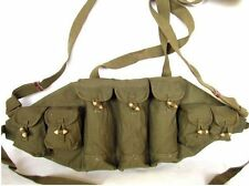 Military Original Vietnam War Chinese Type 56 AK Chest Rig Ammo Pouch