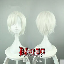 New Anime D.Gray-man Allen Walker Wig Cos Prop Heat Resisting