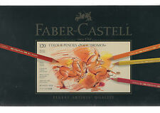 FABER CASTELL **  Colour Pencil Polychromos tin of 120 ** NEW