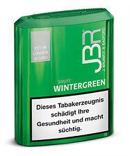 JBR Wintergreen Snuff, 10g / 10er (Tabak, Schnupftabak)