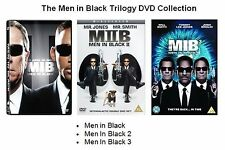 MEN IN BLACK TRILOGY DVD TRIPLE PACK PART 1 2 3 BRAND NEW UK DVD 1-3 Region 2