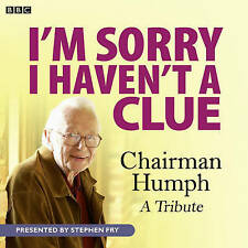 I'M SORRY I HAVEN'T A CLUE  CHAIRMAN HUMPH  A TRIBUTE - NEW - UNSEALED CD AUDIO