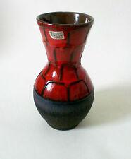 60s Carstens Keramik Vase 22 cm west german fat lava ceramic céramique annees 60