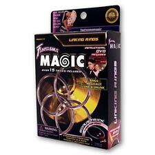 Linking Rings (DVD and 4 Ring Set) by Shoot Ogawa and Fantasma Magic - DVD - Mag