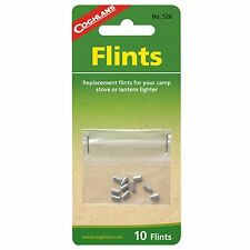 10 PACK REPLACEMENT FLINTS, WORKS WITH MOST LIGHTERS AND STRIKERS, ZIPPO'S,STOVE