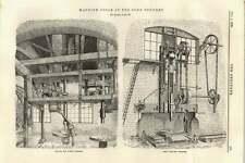 1895 Radial Drill Soho Foundry Blotting Machine Main Sewerage Richmond