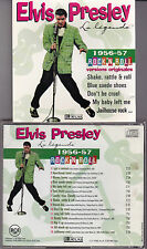 CD 15T ELVIS PRESLEY LA LÉGENDE 1956-57 ROCK 'N ROLL EDITIONS ATLAS BMG FRANCE