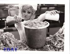 French Fries in bucket VINTAGE Photo Here We Go Around The Mulberry Bush