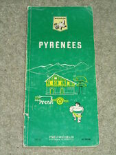 Michelin 'Green' Tourist Guide to The Pyrenees - 1969 vintage edition in French
