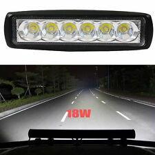 6inch 18W LED Work Light Bar Flood Off-road Driving 4WD LAMP ATV UTE Truck Lamp