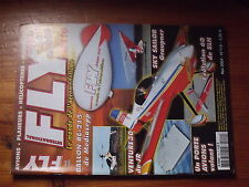 $$3 Revue Fly International N°110 PLan encarte Sweet Trainer  ballon RC-215