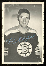 1970 71 OPC O PEE CHEE #7 FRED STANFIELD DECKLE EDGE VG-EX BOSTON BRUINS HOCKEY