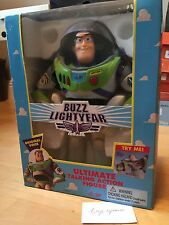 Buzz Lightyear Ultimate Talking Action Figure Original Voice 1995 NIB Toy Story
