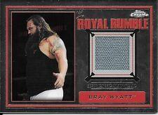 2014 Topps Chrome WWE Bray Wyatt Royal Rumble Mat Relic Card