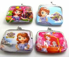 4 sofia the first WALLETS/PURSE-CHILDREN COIN PARTY BAG job lots