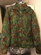 The North Face Purple Label Camouflage Short Down Parka Medium Preowned