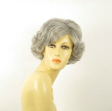 short wig for women curly gray ref: VALENTIA 51