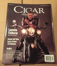 2000 February CIGAR AFICIONADO Magazine—LAURENCE FISHBURNE Cover~CustomGolfClubs