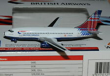 "AVIATION400  1/400 B737-200 BRITISH AIRWAYS G-BGDL "" Benyhome tail """