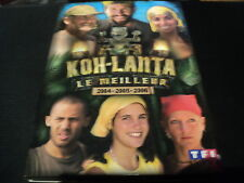 "RARE! DVD ""KOH-LANTA - LE MEILLEUR 2004, 2005 & 2006"" best of"