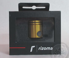 Rizoma CT025 Brake Fluid Reservoir, Side Outflow, Bracket Included, Gold