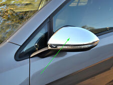 2 Chrome Side Rear View Mirror Covers Protector for Volkswagen VW Golf 7 MK7
