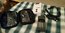 Vintage Motorola Tele TAC 250 Mobile Cellular Phone Manual Charger Case Works
