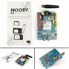 SIM900 GPRS/GSM Bouclier Development Board Quad-Band Shield Module Pour Arduino