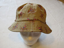 Dirty Ghetto Kids DGK khaki RARE Mens adult sun bucket hat cap surf skate one sz