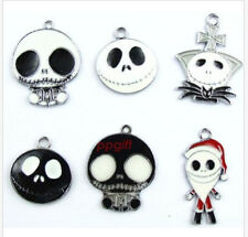 10PCS Mix Nightmare Before Christmas DIY Charms Jewelry Making Pendants Earrings