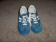VINTAGE 80s SEARS SHOES SNEAKERS JEEPERS NOS SIZE 5 1/2 M BLUE WHITE MENS BOYS