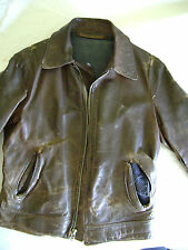 USSR Military Aviator's Leather Flight Jacket, circa 1950s
