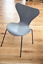 1/15 Grau FH Fritz Hansen Stuhl 3107  Chair Arne Jacobsen  60er 70er 50er