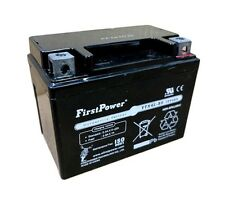 (1) FirstPower FPM4-12 AGM for Adventure Power 12V4AH Motorcycle Battery