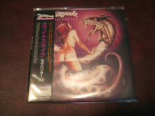 WHITESNAKE RARE LOVEHUNTER  LIMITED EDITION JAPAN REPLICA OBI CD BONUS TRACKS